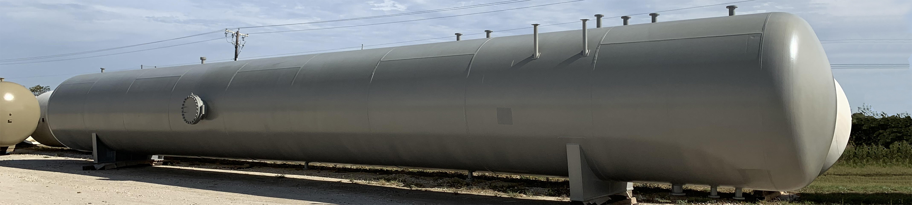 NGL ASME Storage Vessel Fabrication - Engineering Design