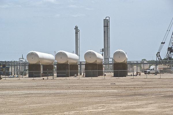NGL Storage Tank Fabrication for Cryogenic Separation Facility