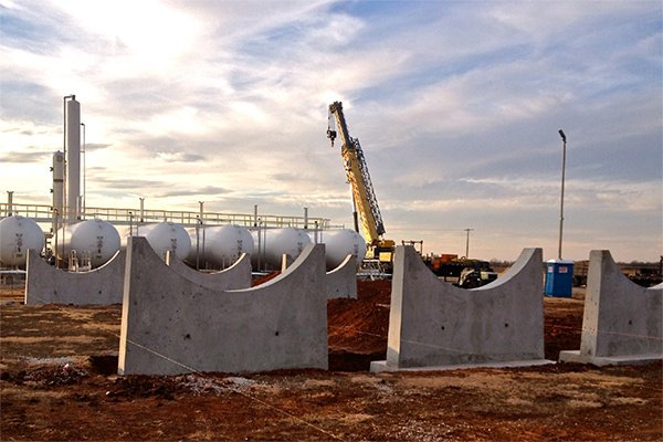 NGL Storage Tank Fabrication for Natural Gas Processing