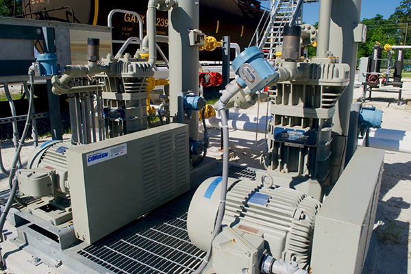Natural Gas Liquids - Pumps & Compressors - Transloading Operations