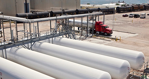 Midstream Solutions for NGL Propane LPG Storage & Distribution