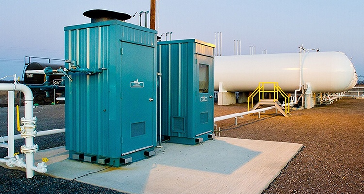 Centralized Gas Distribution