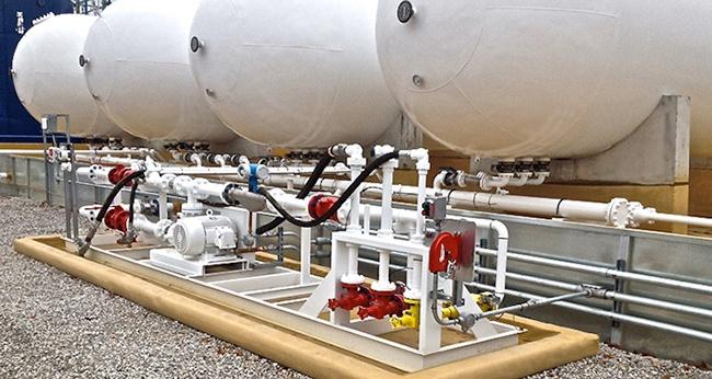 LPG Propane - Liquid Transfer Transloading