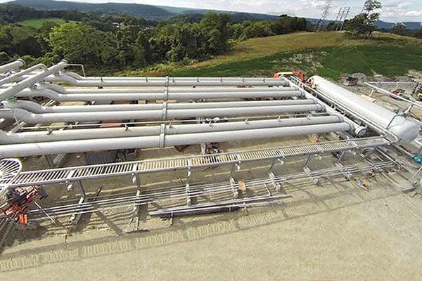 Oil & Gas Production - Harp Type Slug Catcher Fabrication