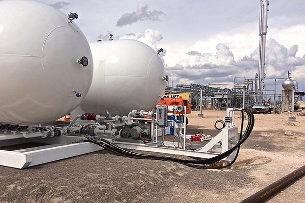 Portable ASME NGL Storage Skids Engineering & Fabrication