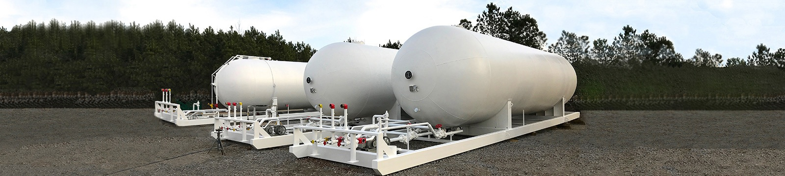 Portable Propane LPG Storage Skids for Sale_4