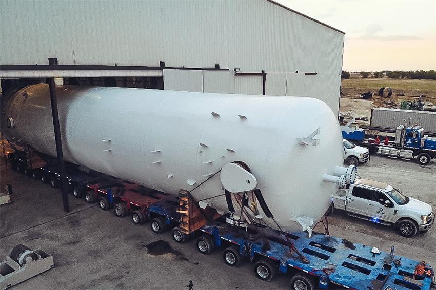 Super Size Large Capacity ASME Pressure Vessel Fabrication