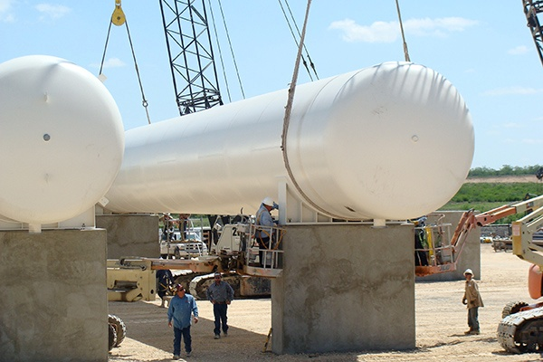 9 - LPG NGL Butane Tank Piers & Saddles - Tanks Set and Installation Services.jpg