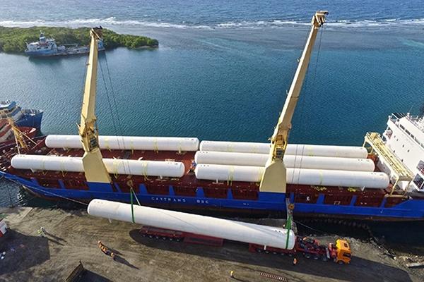 5 - Tank Shipping Unloading Set and Installation - LPG Propane Marine Import Terminal.jpg