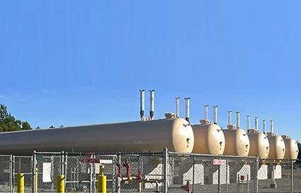 Turnkey LPG Bulk Plant for SNG - Synthetic Natural Gas - Peak Shaving System - Tank Fabrication Engineering and Installation Construction Services