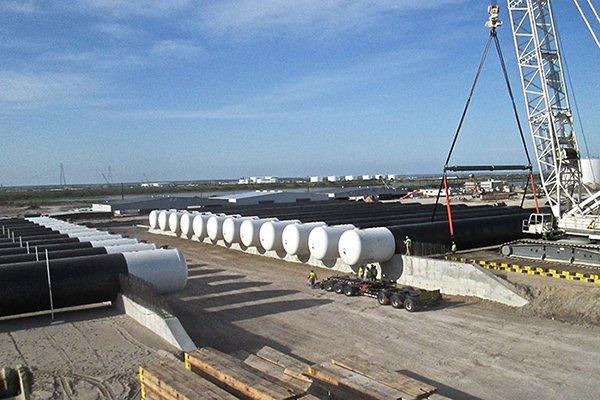 Underground LPG Propane Storage Tank Fabrication
