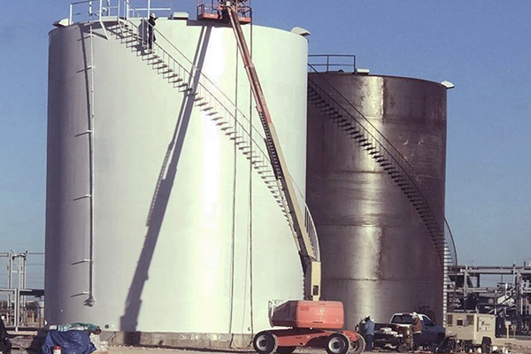 Vertical Condensate Storage Tanks - Custom ASME Fabrication-1