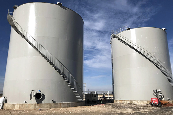 Vertical Condensate Storage Vessels - Custom Fabrication & Installation