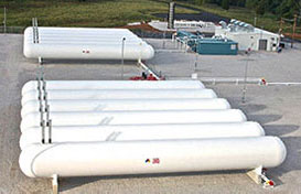 LPG/Propane Storage Tanks
