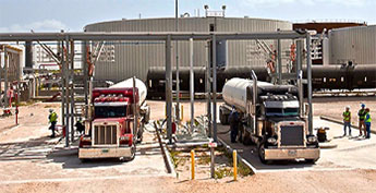 lpg propane butane pipeline to truck terminals