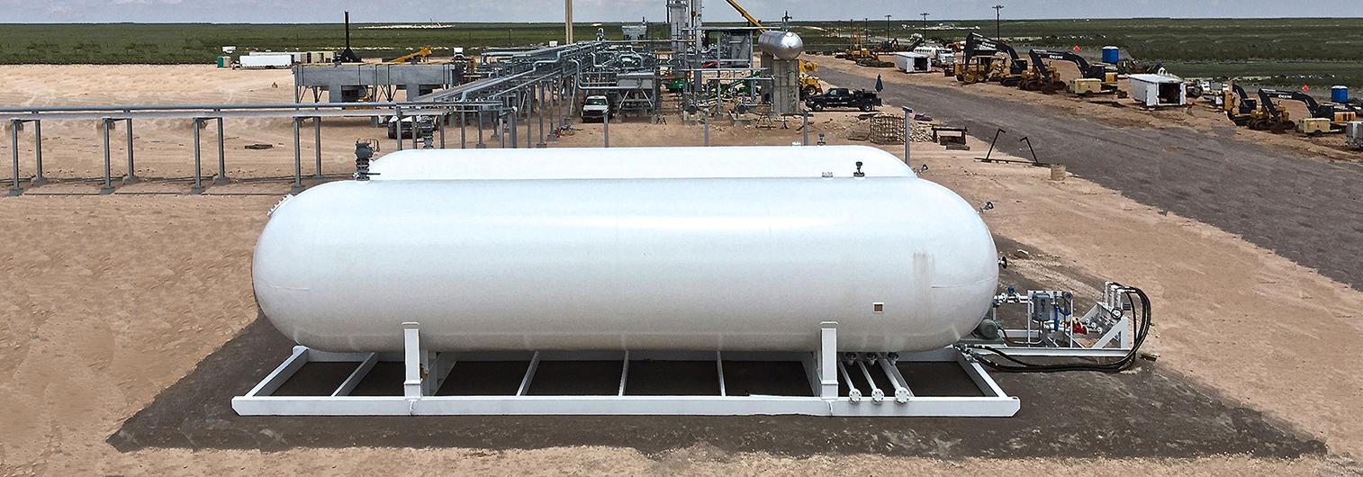 Modular NGL LPG Storage